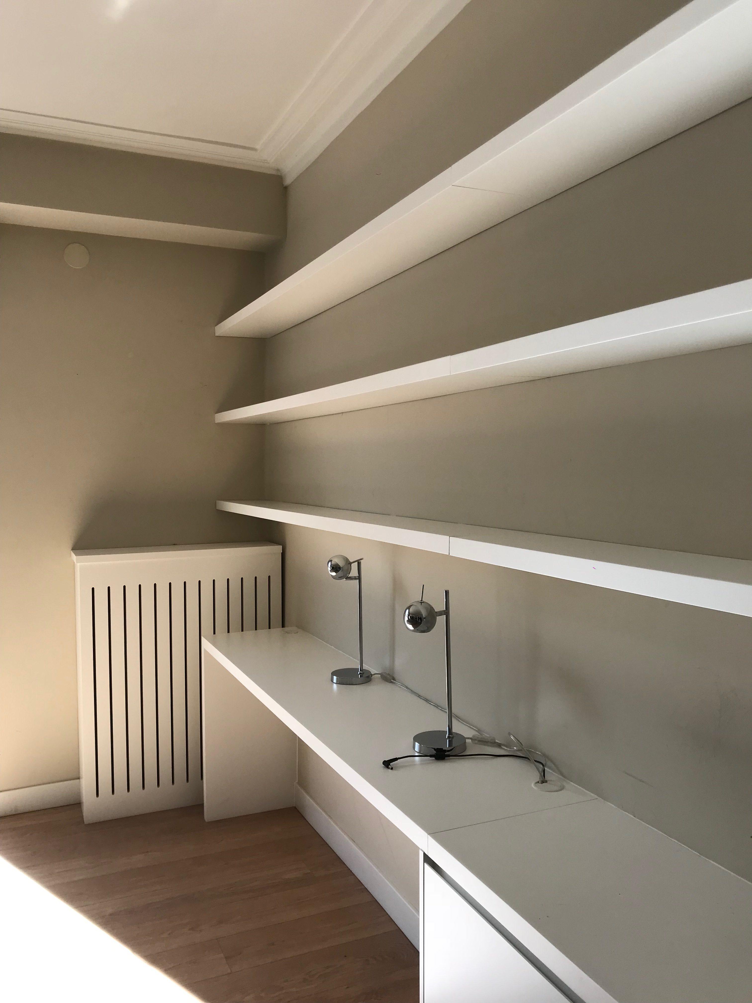 Mueble sal n con escritorio carpinter a incaci - Escritorio salon ...